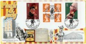 2001 Punch & Judy Self Adhesive 1st Class Stamp Book, Nat West Philatelic Society Official