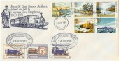 1981 National Trust, on Special Kent & East Sussex Railway FDC