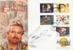 1997 Christmas, Westminster Autographed Editions Official FDC, Signed by Noel Edmonds