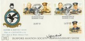 1986 RAF Havering Official FDC, Flown & Signed by Spitfire Test Pilot