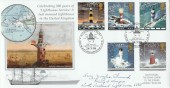 1998 Lighthouses Steven Scott Official Cover No.19 Signed by Gerry Douglas Sherwood