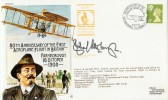 1988 80th Anniversary of the First Aeroplane Flight in Britain. Signed by Richard Attenborough