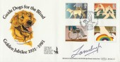1981 Year of Disabled People, Benham BOCS(2)2 Official FDC, Signed Lord Lanesborough