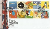 2010 The Olympic & Paralympic Games, Royal Mail FDC, Sporting Disciplines Wembley H/S