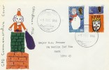 1966 Christmas, GPO FDC, British Stamp Exhibition BF 1000 PS H/S, Scarce