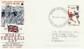 1966 World Cup Winners, Philart FDC, Harrow & Wembley FDI