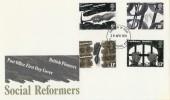 1976 Social Pioneers & Reformers, PO FDC Folkestone FDI