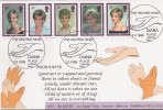 1998 Diana, Official GBFDC, GBD FDC