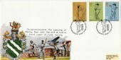 1973 County Cricket, Horley Surrey Swimming Pool FDC, First Day of Issue Lord's London NW H/S