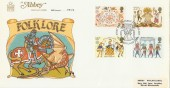 1981 Folklore, Abbey FDC, First Day of Issue London WC H/S
