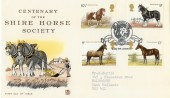 1978 Shire Horse Society, Stuart FDC, Scarce Ars Gratia Artis London W1 H/S