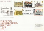 1975 European Architectural Heritage Year, Sanquhar Post Office Official FDC. Scarce