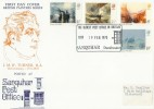 1975 J M W Turner, Official Sanquhar Post Office FDC, Scarce