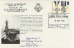 1990 50th Anniversary of The Prelude to the Attack on Taranto Harbour. Signed