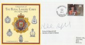 1993 Formation of The Royal Logistic Corps. Signed by Rt. Hon Malcolm Rifkind MP