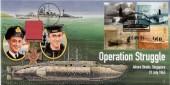 2001 Submarines, Operation Struggle, Singapore, Cambridge Official FDC.