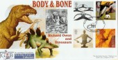 2000 Body & Bone, GBFDC Official FDC No.2 Dinosaurs Plymouth
