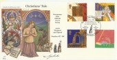 1999 Christians' Tale, 4d Post Official Millennium FDC, signed by the Cover Designer