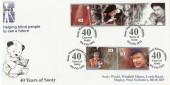 1992 Happy & Glorious, RNIB Sooty World Arlington Official FDC Scarce