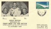 1969 First Men on the Moon, Philatrade. Unusual Cover