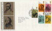 1970 Literary Anniversaries PO FDC, with READING cds very relevant cds to the issue