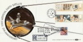 1982 Information Technology, Benham BLS6 FDC Rocket  cds + 1998 Kennedy Space Centre H/S