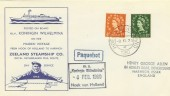 1960 Paquebot Cover, Posted on Board M.V.Koningin Wilhelmina