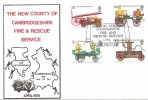 1974 Fire Service, The New County of Cambridgeshire Fire & Resue Service Official FDC