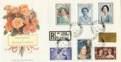1990 Queen Mother's 90th Birthday, Royal Mail FDC Mey cds