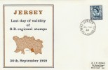 1969 Last day of Validity of GB Regional Stamps in the Channel Islands Cover