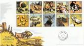 2005 Farm Animals, Royal Mail FDC, Roweltown Carlisle cds