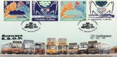 1994 Channel Tunnel Busways E.S.O.P, Dawn Official FDC