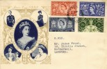 1953 Coronation Illustrated FDC, Windsor Berks. cds