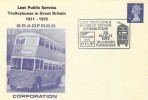 1972 Last Public Service Trolleybuses in Great Britain 1911-1972, Exhibition Bradford Cover