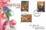 1967 Christmas Doubled dated Connoisseur FDC, Southampton FDI
