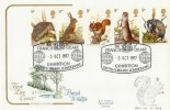 1977 British Wildlife, Cotswold FDC, Sir Francis Drake Exhibition H/S. RARE