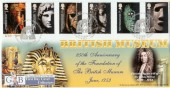 2003 British Museum, GBFDC No.14 Official FDC