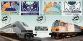 1994 Channel Tunnel Brush Traction, Official Bradbury FDC