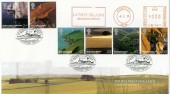 2005 South West England FDC, Lundy Island Meter Mark, Bideford to Lundy H/S