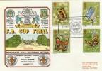 1981 Butterflies, FA Cup Final, Manchester City v Tottenham Hotspur FDC