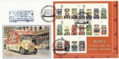 2001 Buses M/S, Birmingham City Transport VE Day Bus, Dawn FDC