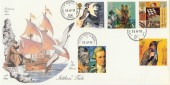1999 Settlers' Tale, 4d Post FDC, Corbridge Northumberland cds