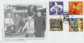 1999 Travellers' Tale, On the Buses, Cambridge Official FDC
