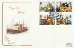 1981 Deep Sea Fishing, Cotswold FDC, Fishing Fleets Brixham H/S