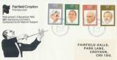 1980 British Conductors BBC Orchestra on Fairfield Halls Croydon Official FDC