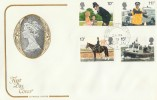 1979 Police, Cotswold FDC, British Forces Post Office BERLIN 3 cds