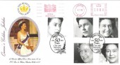 2002 Queen's Golden Jubilee, Sheridan Official, Royal Sovereign Meter Mark FDC