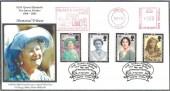 2002 The Queen Mother, Sheridan Official, Glamis Castle Meter Mark FDC