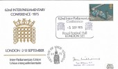 1975 Parliament, 62nd Inter-Parliamentary Conference Official FDC. Signed Tom Williams MP