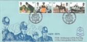 1979 Police, Metropolitan Police New Scotland Yard, Bradbury FDC